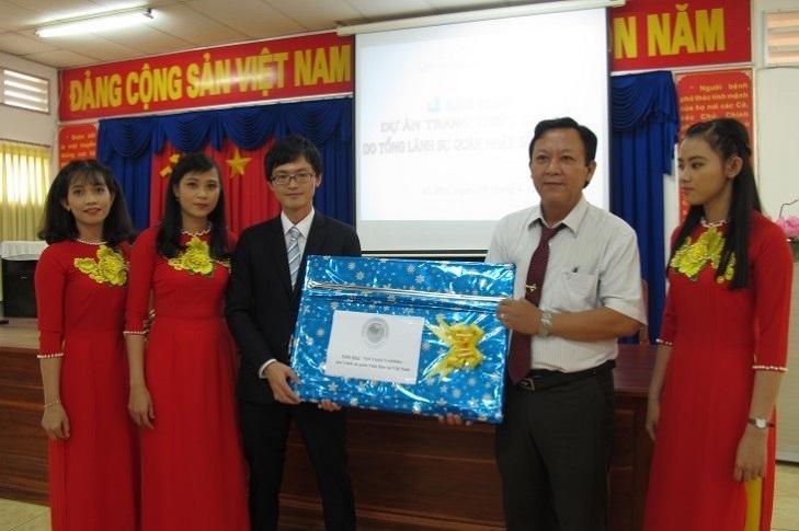 """Lễ bàn giao """"Dự án Trang bị thiết bị y tế cho Bệnh viện Đa khoa huyện An Phú, tỉnh An Giang"""""""
